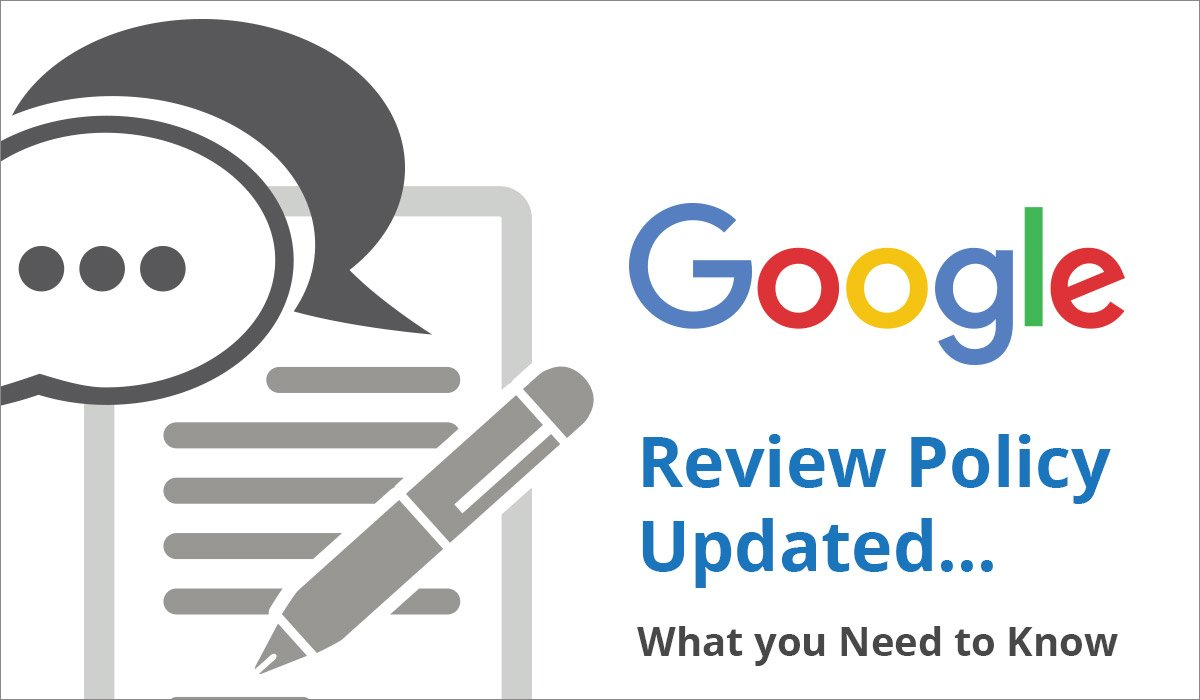 google updates review policy